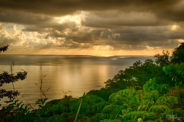 Costa Rica sunset HDR jpg-